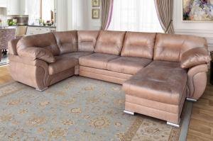 Диван П-образный с оттоманкой Манчестер - Мебельная фабрика «Идеальный Дуэт»