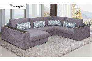 Диван п-образный Виктория - Мебельная фабрика «Любимая мебель»