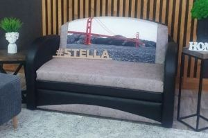 Диван прямой Барби 3 - Мебельная фабрика «Стелла»