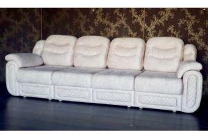 Диван прямой Белый - Мебельная фабрика «Данила Мастер»