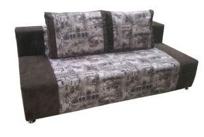 Диван прямой без подлокотников Ева 1 - Мебельная фабрика «Кармен»