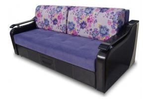 Диван прямой фиолетовый ЛИЛИЯ - Мебельная фабрика «Ваш Выбор»