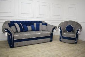 Диван прямой Грация и кресло - Мебельная фабрика «ЮлЯна»