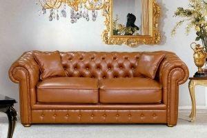 Диван прямой классический Честер - Мебельная фабрика «Катрина»