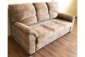 Диван прямой коричневый лео 19 - Мебельная фабрика «Лео Люкс»