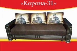 Диван прямой Корона-31 - Мебельная фабрика «Корона»