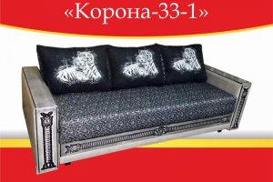Диван прямой Корона-33/1 - Мебельная фабрика «Корона»