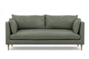 Диван прямой кожаный Катлин - Мебельная фабрика «Defy Mebel»