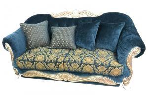 Стильный диван Лель 26 эмаль белая - Мебельная фабрика «Вершина комфорта»