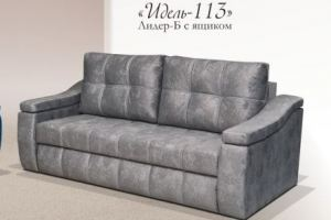 Диван прямой Лидер 113 с ящиком - Мебельная фабрика «Идель»