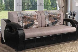 Диван прямой Лидер 7 - Мебельная фабрика «Евромебельстиль»