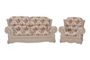 Диван прямой Луиза с креслом - Мебельная фабрика «Долли»