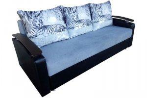 Диван прямой Надежда 02 с купоном - Мебельная фабрика «Триумф мебель»