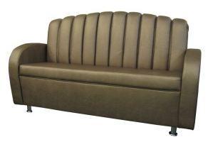 Диван прямой Плаза Н спинка дугой - Мебельная фабрика «Европейский стиль»