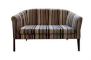 Диван прямой полосатый - Мебельная фабрика «Ритм»