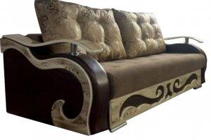 Диван прямой с декором Версаль - Мебельная фабрика «Эдем»
