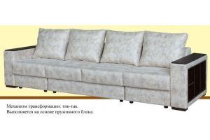 Диван прямой с подлокотниками Валенсия - Мебельная фабрика «Suchkov-mebel»