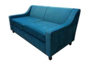 Диван прямой синий - Мебельная фабрика «Ритм»