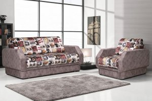 Комплект диван и кресло Сити - Мебельная фабрика «ТРЕВИ»