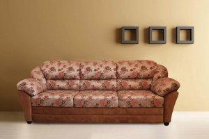 Диван прямой Ванесса  3ка - Мебельная фабрика «Люкс Холл»