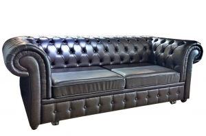 Диван прямой выкатной Честерфилд - Мебельная фабрика «BURJUA»