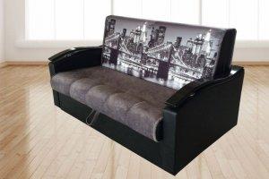 Диван прямой Янтарь 3 - Мебельная фабрика «Сезам»