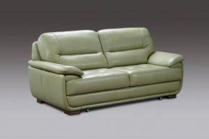 Диван прямой зеленый Диана 2 - Мебельная фабрика «ТРИЭС»