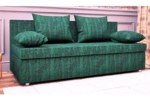 Диван прямой зеленый эконом - Мебельная фабрика «Раевская»