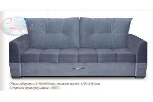 Диван прямой Женева - Мебельная фабрика «Евростиль»