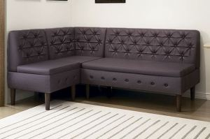 Диван Райфл на высоких ножках - Мебельная фабрика «Ивару»