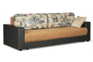 Диван Релакс коричневый - Мебельная фабрика «Лидер»
