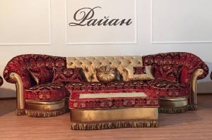 Диван с пуфом Флоренсия - Мебельная фабрика «РАЙАН»