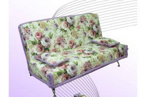 Диван с цветами Арлекин  - Мебельная фабрика «Аметист-М»