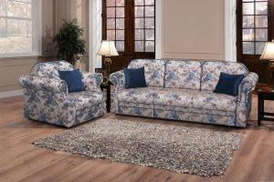 Диван с цветочным рисунком Олива - Мебельная фабрика «Ardoni»