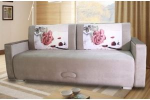 Диван с формовыми подушками Лира 1 - Мебельная фабрика «Велес»