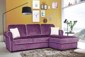 Диван с оттоманкой Амели - Мебельная фабрика «Элфис»