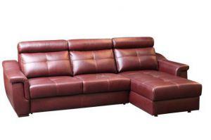 Диван с оттоманкой Берлони 3 - Мебельная фабрика «Родион»