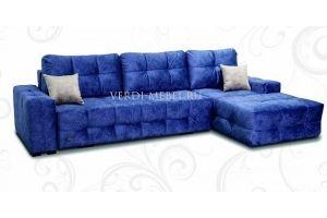 Диван с оттоманкой большой Италия - Мебельная фабрика «Верди»