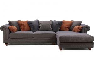 Диван с оттоманкой Harrison Neo - Мебельная фабрика «ALVI SALOTTI»