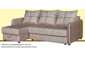 Диван с оттоманкой Хилтон - Мебельная фабрика «Suchkov-mebel»