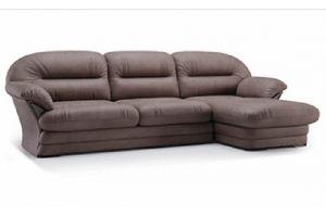 Диван с оттоманкой мягкий Неаполь 2 - Мебельная фабрика «Fenix»