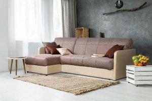 Диван с оттоманкой Orto flex - Мебельная фабрика «Гармония»