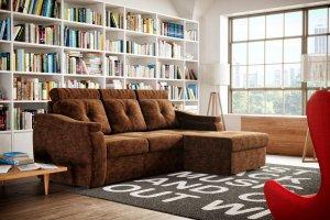 Диван с оттоманкой Пальмира - Мебельная фабрика «Димир»