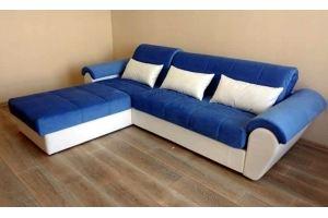 Диван с оттоманкой Таймыр АТС - Мебельная фабрика «Мебельная Мануфактура24»