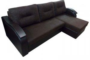 Диван с оттоманкой  Вавилон 03 - Мебельная фабрика «Триумф мебель»