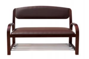 Диван с рейлингами - Мебельная фабрика «Сириус»