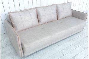 Диван с узкими подлокотниками - Мебельная фабрика «Палитра»