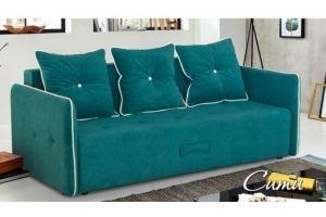 Диван с узкими подлокотниками Сити - Мебельная фабрика «DeLuxe»