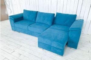 Диван с выдвижной оттоманкой - Мебельная фабрика «Палитра»