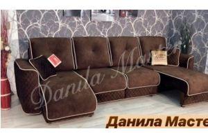 Диван с выдвижной оттоманкой Лагуна - Мебельная фабрика «Данила Мастер»